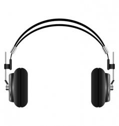 headphones set vector image vector image