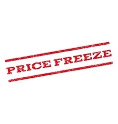 Price Freeze Watermark Stamp vector image