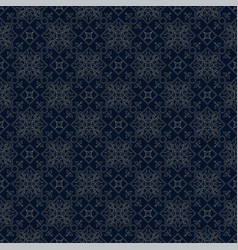 retro seamless pattern classic background vector image