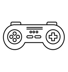 video game control isolated icon vector image