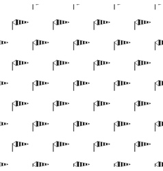 Supplies wind sock pattern simple style vector image