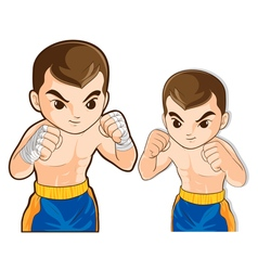 Boxing guard action vector