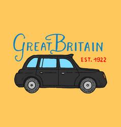 british symbols badges or stamps emblems car vector image