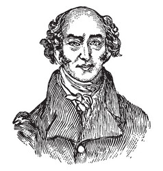 George canning vintage vector