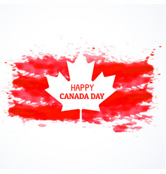 Gunge style canada flag background vector