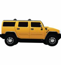 Hummer vehicle vector