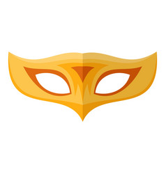 palm mask icon flat style vector image