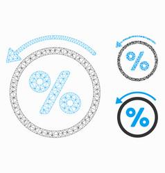 Rebate percent mesh network model and vector