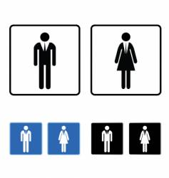 Restroom business vector