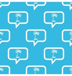 Vacation message pattern vector image