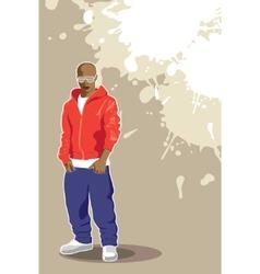vector urban poster vector image