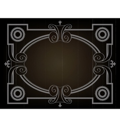 Old movie background vector image vector image