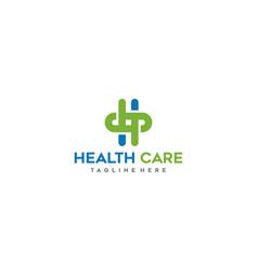 Health care logo design inspiration vector