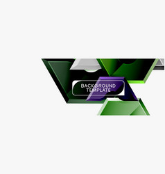 modern geometric shapes abstract background or vector image