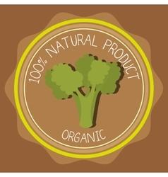 Natural food product vector
