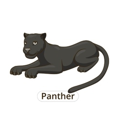 Panther cartoon vector