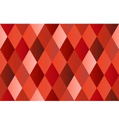 Red Diamond Polygon Background vector