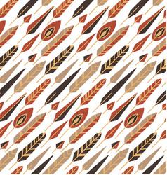 Seamless tribal texture with diagonal boho vector