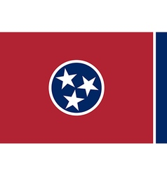 Tennessee Flag vector image