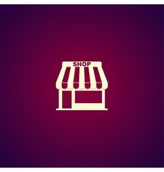 Store icon concept for design vector image vector image