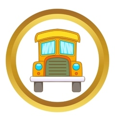 Toy truck icon vector image
