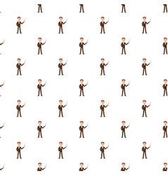 teacher pattern vector image vector image