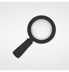 Magnifying Glass Icon vector image vector image