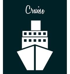 cruise icon vector image