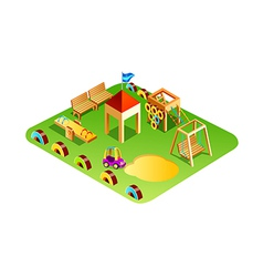 Icon playground vector