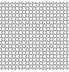 Monochrome seamless abstract square pattern vector