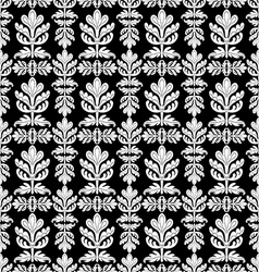 Royal black and white background vector