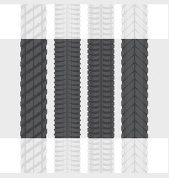 tire tracks set one vector image
