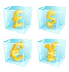 Frozen money vector