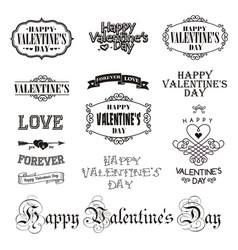 Photo overlays hand drawn lettering collection vector
