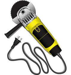 electric grinder Eps10 vector image