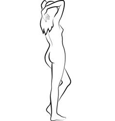 woman vector image vector image