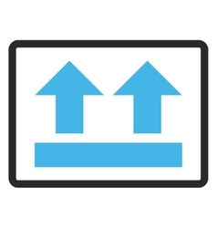 Bring Up Framed Icon vector