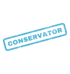 Conservator Rubber Stamp vector image