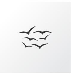 gulls icon symbol premium quality isolated vector image
