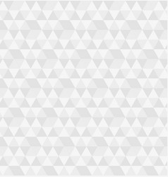 hexagon from triangles seamless pattern vector image