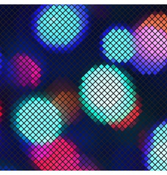 Abstract light mosaic vector image vector image
