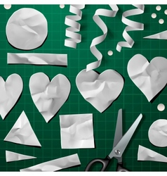 Design elements for Valentines Day Party vector image vector image