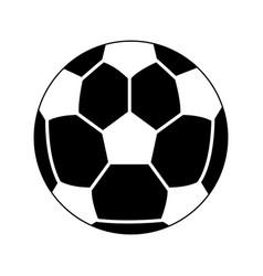 Soccer or football ball icon image vector