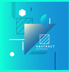 abstract geometric background with triangles in a vector image