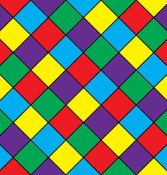 Abstract geometric seamless pattern Colored vector image