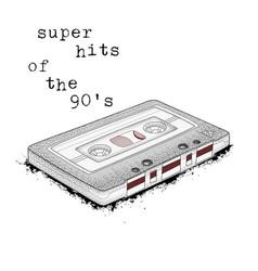 audio cassette symbol of retro music super hits vector image