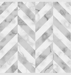 Marble luxury herringbone seamless pattern vector