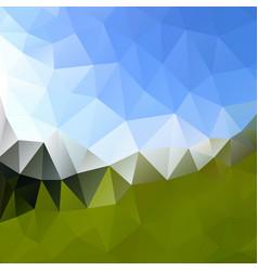 Multicolor polygonal background design vector