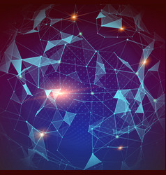 Pattern plexus global network modern abstract vector