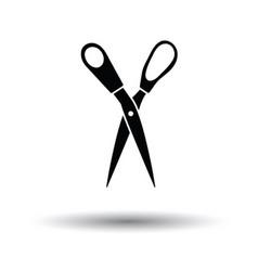 Tailor scissor icon vector
